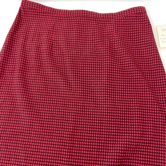Christopher & Banks Midi Mole Skin Skirt NWT